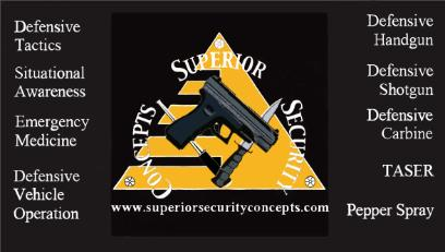 Superior Security Concepts Classes